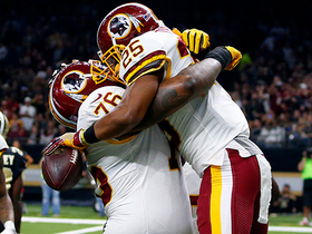 Kirk Cousins drops it in Chris Thompson's bucket for TD