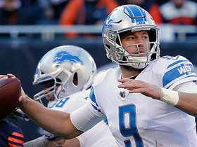 Matthew Stafford tries to test Kyle Fuller deep; it doesn't work