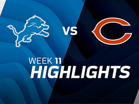 Lions vs. Bears highlights | Week 11