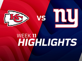 Chiefs vs. Giants highlights | Week 11