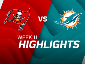 Buccaneers vs. Dolphins highlights | Week 11