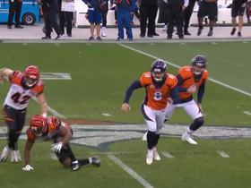 Bengals ice kicker, KeiVarae Russell blocks 61-yard FG attempt