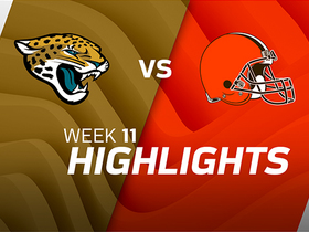 Jaguars vs. Browns highlights | Week 11