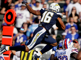 Tyrell Williams LEAPS over Micah Hyde to get first down