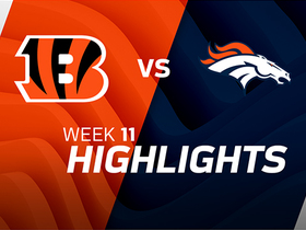 Bengals vs. Broncos highlights | Week 11