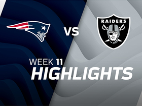 Patriots vs. Raiders highlights | Week 11