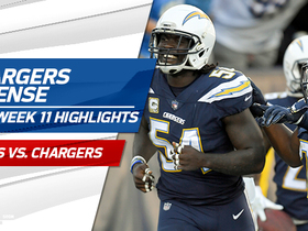 Chargers defense highlights | Week 11
