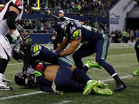 Seahawks stun Falcons, recover their own pooch kick