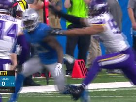 Abdullah puts a juke clinic vs. Harrison Smith, picks up 18 yards