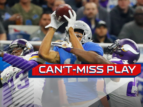 Can't-Miss Play: Jones proves double coverage isn't enough on TD