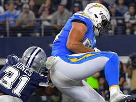 Rivers threads needle to Henry for first TD of game