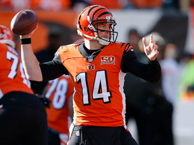 Andy Dalton finds a wide open A.J. Green for 18 yards