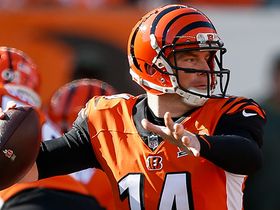 Andy Dalton rips pass to Alex Erickson for 18 yards
