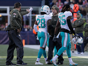 Bobby McCain ejected for throwing a punch at Danny Amendola