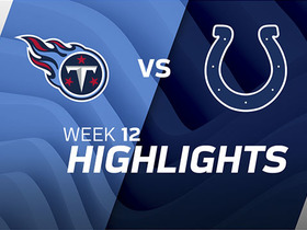 Titans vs. Colts highlights | Week 12
