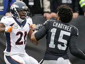 Aqib Talib and Michael Crabtree scuffle, spark Raiders-Broncos fight