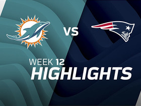 Dolphins vs. Patriots highlights | Week 12