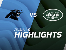 Panthers vs. Jets highlights | Week 12
