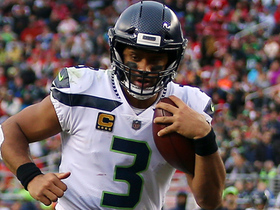 Russell Wilson scrambles 11 yards for a first down