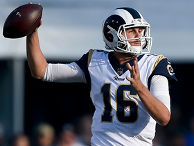 Jared Goff connects with Sammy Watkins for 22-yard gain