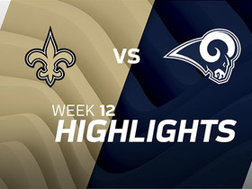 Saints vs. Rams highlights | Week 12