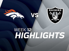 Broncos vs. Raiders highlights | Week 12