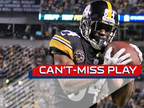 Can't-Miss Play: Antonio Brown makes toe-tap catch of the year