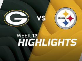 Packers vs. Steelers highlights | Week 12