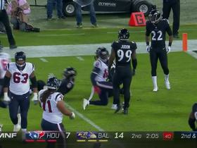 Savage play fake completely fools Ravens defensive end