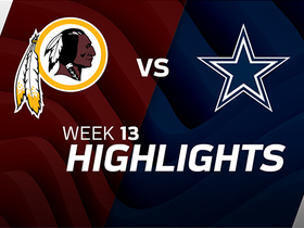 Redskins vs. Cowboys highlights | Week 13