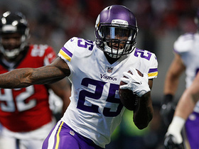 Latavius Murray shows Bell-like patience on 30-yard run