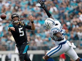 Tarell Basham brings the heat, strips Bortles to halt Jags momentum