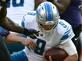 Eric Weddle levels Matthew Stafford for huge strip-sack