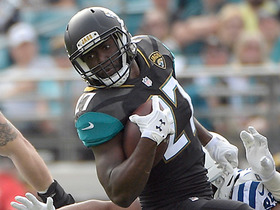 Fournette lines up as WR, catches 11-yard pass for first down