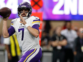 Keenum has eternity to throw, fires dart to Treadwell for first down