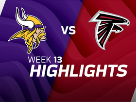 Vikings vs. Falcons highlights | Week 13
