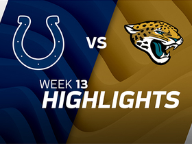 Colts vs. Jaguars highlights | Week 13