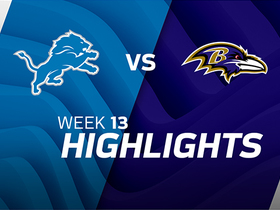 Lions vs. Ravens highlights | Week 13
