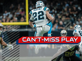 Can't Miss Play: Christian McCaffrey gets AIR on dramatic hurdle