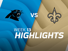 Panthers vs. Saints highlights | Week 13