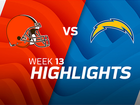 Browns vs. Chargers highlights | Week 13