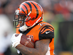 Kinkhabwala: Bengals believe running the ball is key vs. the Steelers
