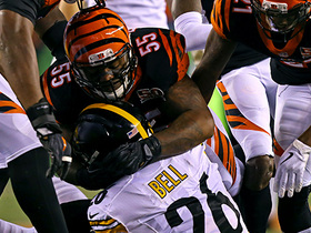 Burfict, Bell reignite Steelers-Bengals rivalry after Adam Jones' INT