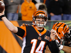 Andy Dalton drops perfect 27-yard pass in bucket to Brandon LaFell