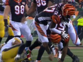 Vontaze Burfict lowers the boom on James Conner for big loss