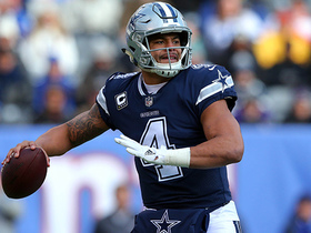 Dak Prescott throws pinpoint pass to James Hanna for 16-yard pickup