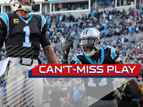 Can't-Miss Play: Cam ESCAPES sack and finds Funchess for 18-yard TD