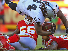Derrick Johnson lowers the boom on Beast Mode