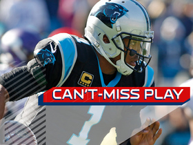 Can't-Miss Play: Cam ends defender with juke, rumbles for 62 yards