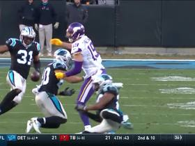 Coleman flies in to break up pass on fourth down